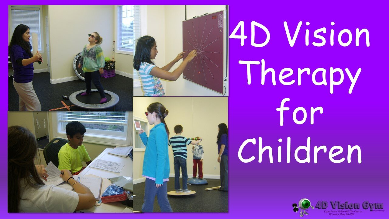 4D Vision Therapy for Children